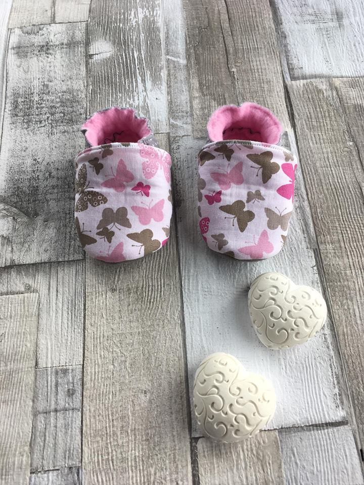 "Chaussons ""Petits Papillons"""