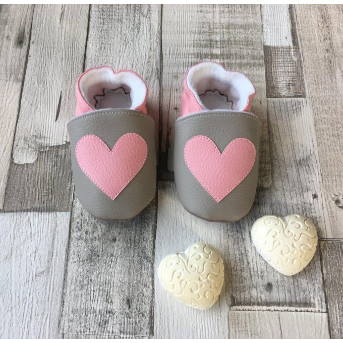 "Chaussons ""Coeur"""