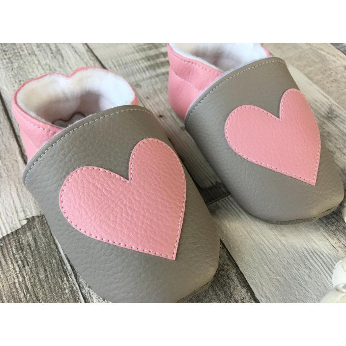 Chaussons 'Coeur'