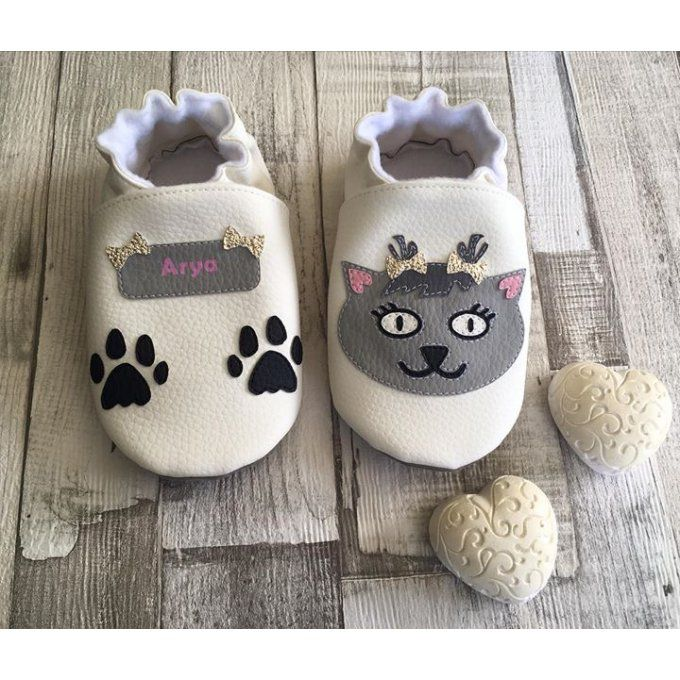 Chaussons Chat Mignon